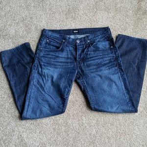 Hudson Byron Straight blue jeans 34